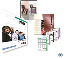 Click here for folders and data sheet design for MA and NH businesses.