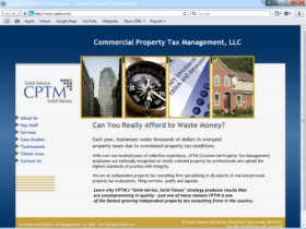 Example of Banks and Financial Financial Services Internet Web Site Design