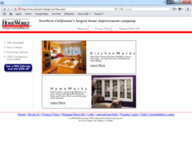 Example of Construction Real Estate and Home Improvement Home Improvement Web Design And Hosting
