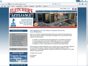 Example of Construction Real Estate and Home Improvement Home Improvement SEO Web Design