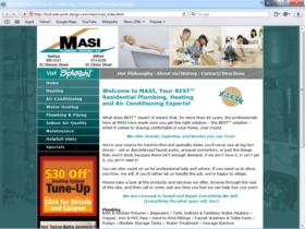 Example of Construction Real Estate and Home Improvement Home Improvement web design NH
