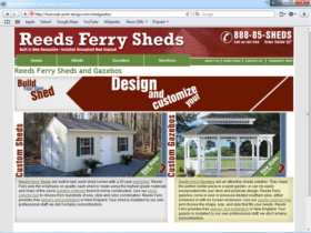 Example of Construction Real Estate and Home Improvement Home Improvement web development