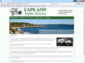 Example of Construction Real Estate and Home Improvement Management and Repairs custom web design