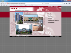 Example of Corporate Services Internetworking and Related web designers