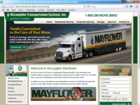 Example of Corporate Services Transport and Logistics search engine marketing