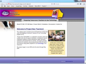 Example of Education Higher Education and Colleges Online Marketing