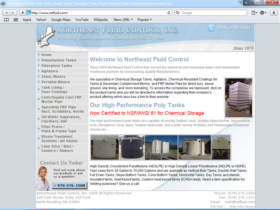 Example of Manufacturing Contract Manufacturing Web Site Design