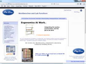 Example of Manufacturing Contract Manufacturing Web Page Design