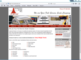 Example of Manufacturing Distribution SEO Web Design