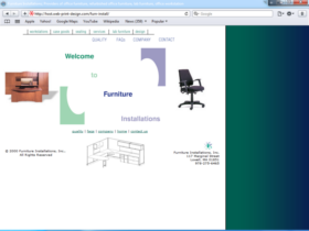 Example of Manufacturing Distribution Real Estate Web Design