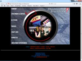 Example of Manufacturing Distribution Website Designer