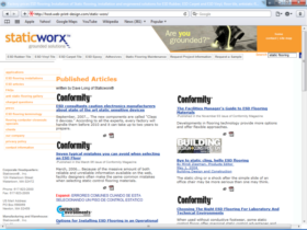 Example of Manufacturing Distribution Small Business Web Site