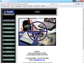 Example of Manufacturing High Technology Internet Site