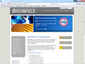 Example of Manufacturing Materials and Heavy Equipment Search Engine Marketing