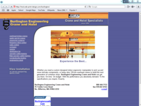 Example of Manufacturing Materials and Heavy Equipment Search Engine Company