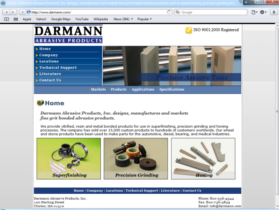 Example of Manufacturing Materials and Heavy Equipment seo web design