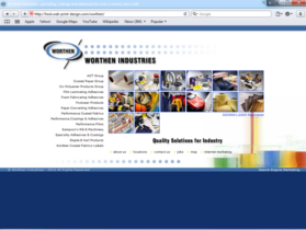 Example of Manufacturing Materials and Heavy Equipment Search Engine Services