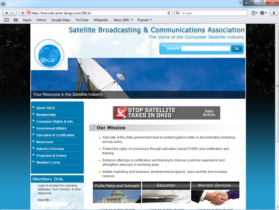 Example of Non-Profit Associations Foundations and Non-Profit web site development