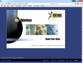 Example of Software and TeleCom Internetworking and Related Small Business Web Design
