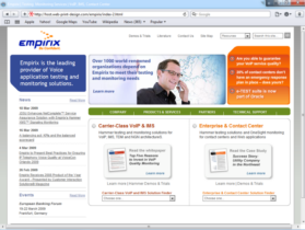 Example of Software and TeleCom Internetworking and Related Internet Marketing Web Site