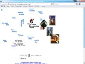 Example of Banks and Financial Bank Best Web Design