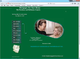 Example of Banks and Financial Financial Services Web Design Services