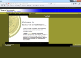 Example of Banks and Financial Financial Services Web Design Company