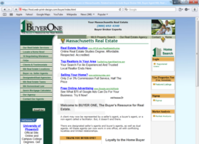 Example of Construction Real Estate and Home Improvement Brokers and Agents web page design