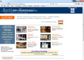 Example of Construction Real Estate and Home Improvement Home Improvement web design