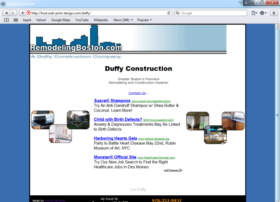 Example of Construction Real Estate and Home Improvement Home Improvement Small Business Website