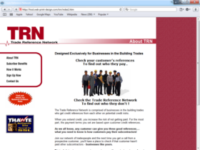 Example of Construction Real Estate and Home Improvement Management and Repairs Small Business Web Design