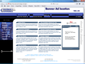 Example of Corporate Services Business Consulting Web Design Services