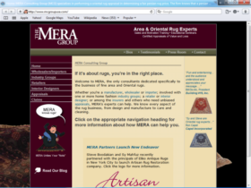 Example of Corporate Services Business Consulting corporate website design
