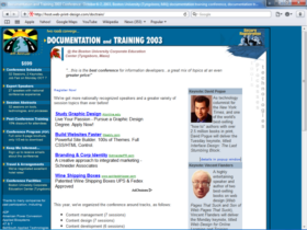 Example of Corporate Services HR and Training Search Engine Marketing