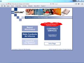 Example of Corporate Services HR and Training Search Marketing
