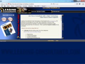 Example of Corporate Services HR and Training Web Pages