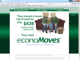Example of Corporate Services Transport and Logistics Built by Web Design MA NH