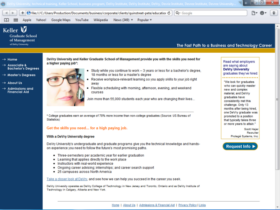 Example of Education Higher Education and Colleges web designers