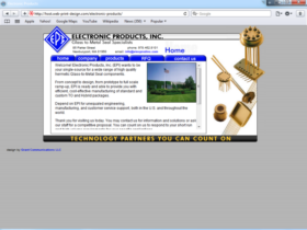 Example of Manufacturing Distribution Internet Marketing Services