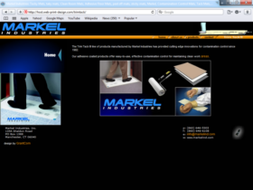 Example of Manufacturing Distribution Internet Web Marketing