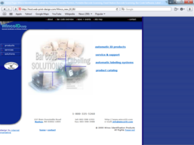 Example of Manufacturing Distribution Web Design Firm