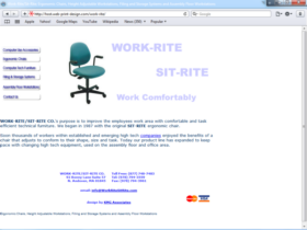 Example of Manufacturing Distribution Web Design Services