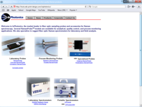Example of Manufacturing High Technology Professional Web Design