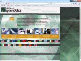Example of Manufacturing High Technology web design