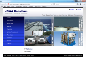 Example of Manufacturing Materials and Heavy Equipment Search Engine Optimization Search