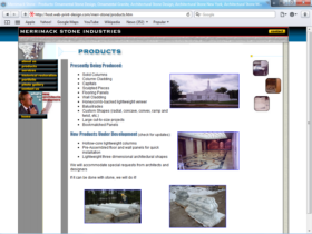 Example of Manufacturing Materials and Heavy Equipment Website Promotion
