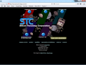 Example of Manufacturing Materials and Heavy Equipment Web Site Design Company