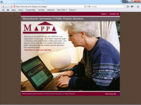 Example of Non-Profit Associations Foundations and Non-Profit MA Web Design