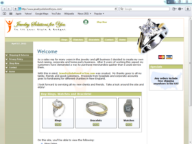 Example of Retail Clothing and Accessories Corporate Web Design