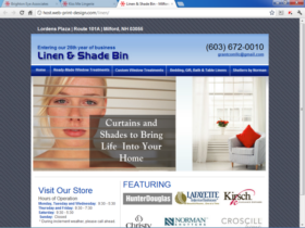 Example of Retail Clothing and Accessories Web Development
